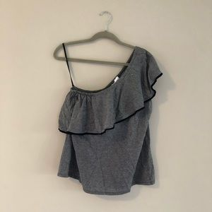 NWT LOFT one shoulder tank. Size large.